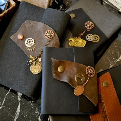What's New – Steampunk Leather Journals