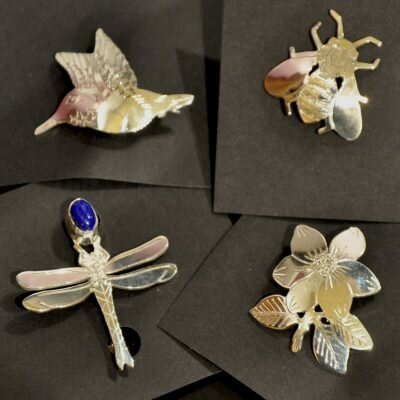 What's New – Wren Silverworks Brooches